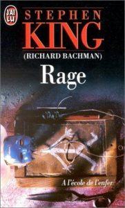 Couverture du roman Rage